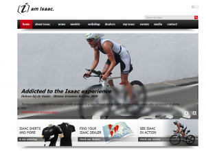 Nieuwe website Isaac Cycle