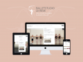Responsive website: Balletstudio Le Rêve