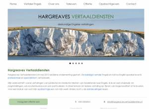 3seconds.nl lanceert website hargreavesvertaaldiensten.nl