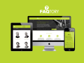 Responsive website: FAQtory